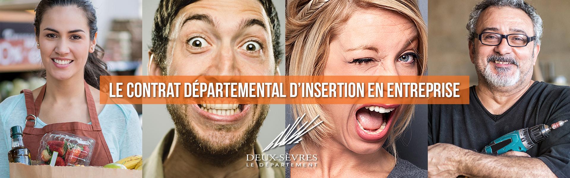 Contrat Départemental d'Insertion en Entreprise – CDIE Deux-Sèvres